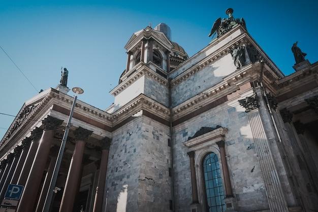 Ville historique de saint-pétersbourg bâtiment culture architecture russe