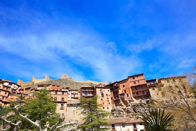 Ville médiévale d'albarracin au patrimoine mondial de teruel