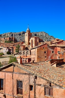 Ville médiévale d'albarracin à teruel en espagne