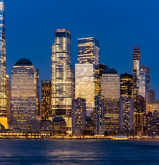 Ville de new york, lower manhattan