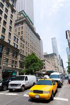 Ville de new york manhattan fifth avenue 5th av us
