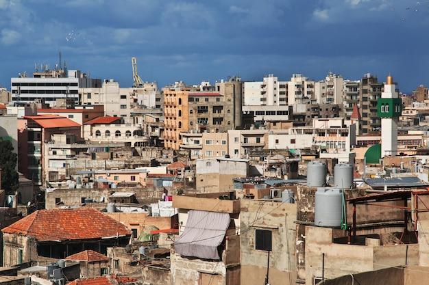 Ville de tripoli au liban, moyen-orient