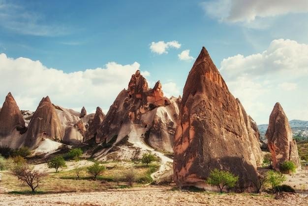 Ville troglodyte en cappadoce turquie