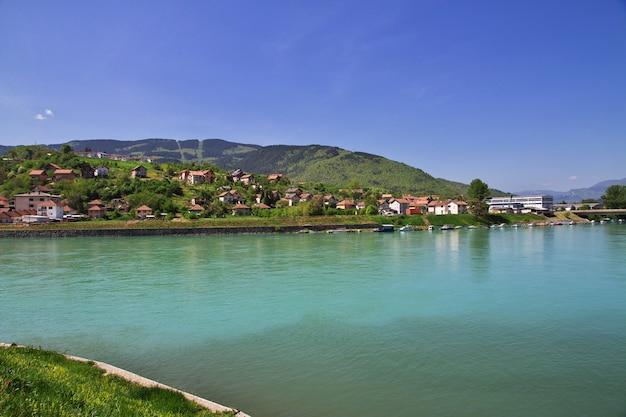 Ville de visegrad en bosnie-herzégovine