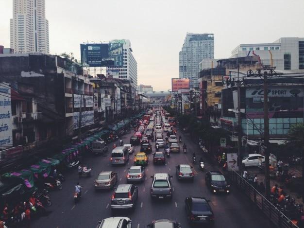 La ville des voitures
