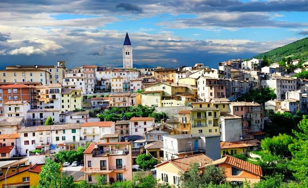 Villes illustrées d'italie, gualdo tadino, ombrie