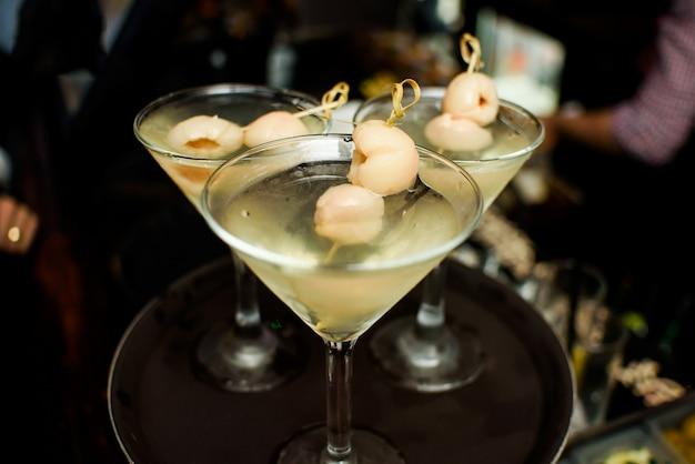 Vin de champagne verre de boisson de restauration