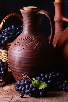 Vin géorgien traditionnel, la récolte de cette année