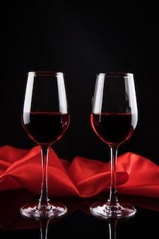 Vin rouge élégance