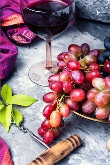 Vin rouge jeune