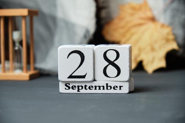 Vingt-huitième jour du calendrier du mois d'automne