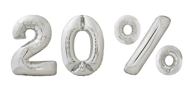 Vingt pour cent de réduction sur les ballons chromés