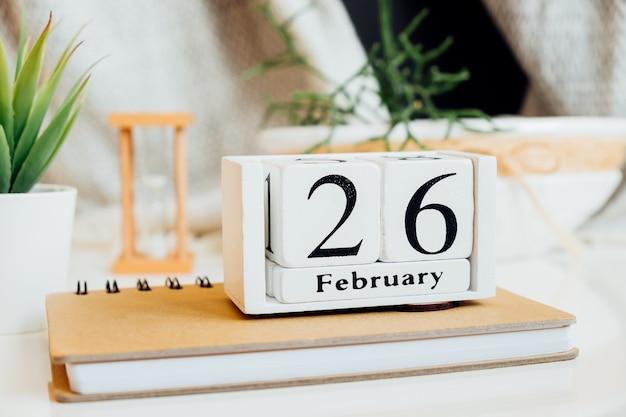 Vingt-sixième jour du calendrier du mois d'hiver de février.