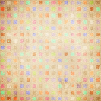 Vintage background de papier grunge, motif rétro