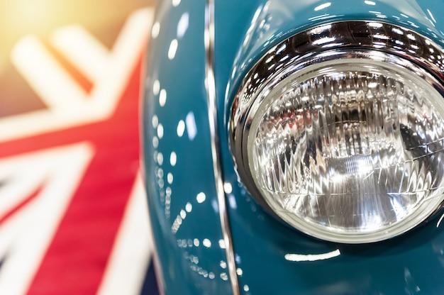 Vintage england car