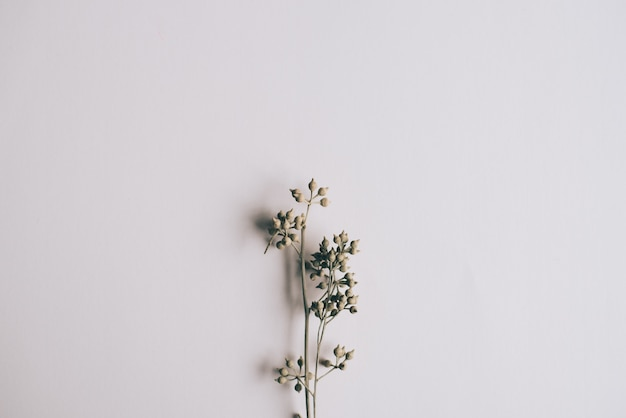 Vintage fleur de fond pour carte de mariage.
