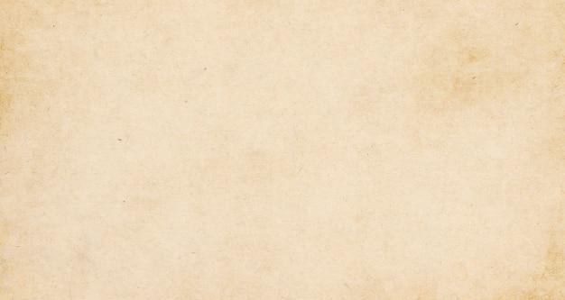Vintage vieux fond de texture de papier brun, papier kraft horizontal avec un design unique de papier, style de papier naturel doux pour un design créatif esthétique