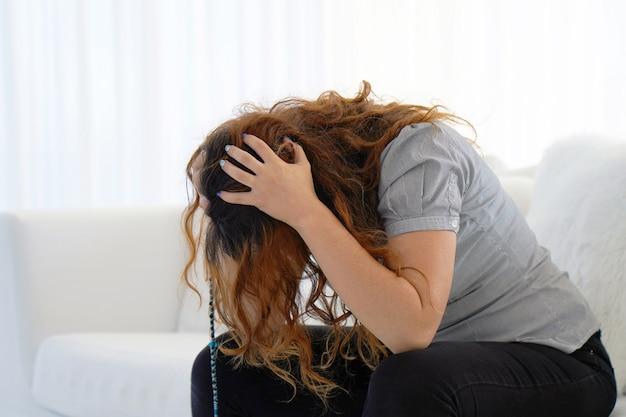 Violence domestique femme âgée. la violence familiale