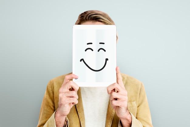 Visage Expressions Illustrations émotions Sentiments Photo gratuit