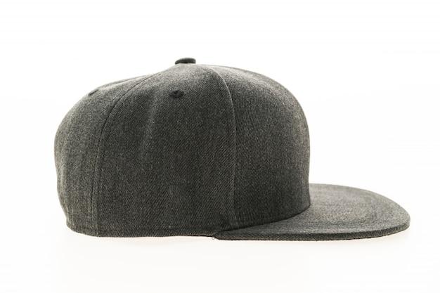 Visière bleue baseball tissu chapeau