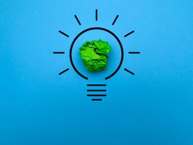 Vision d'une nouvelle idée réussie