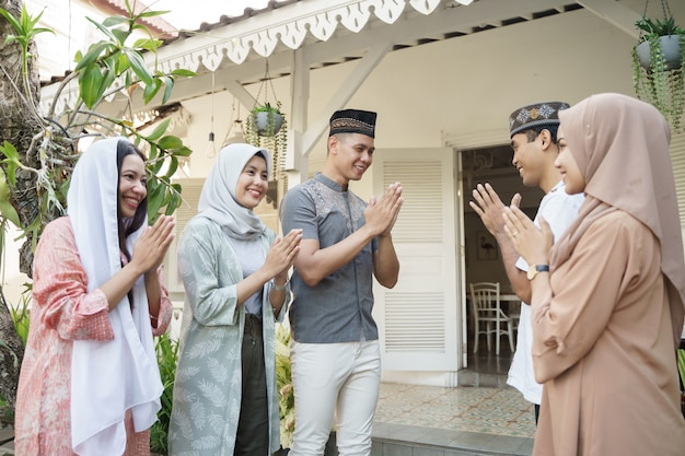 Visite de famille sur eid mubarak