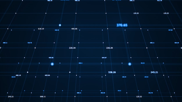 Visualisation big data. algorithmes d'apprentissage machine.