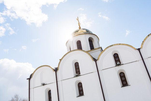 Vitebsk, bélarus - 20 mars 2016: église de l'annonciation