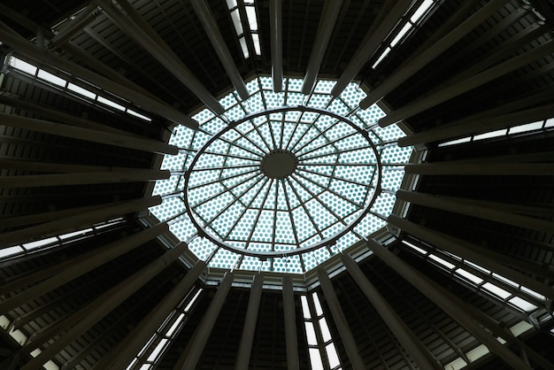 Vitre de toit l'architecture intérieure