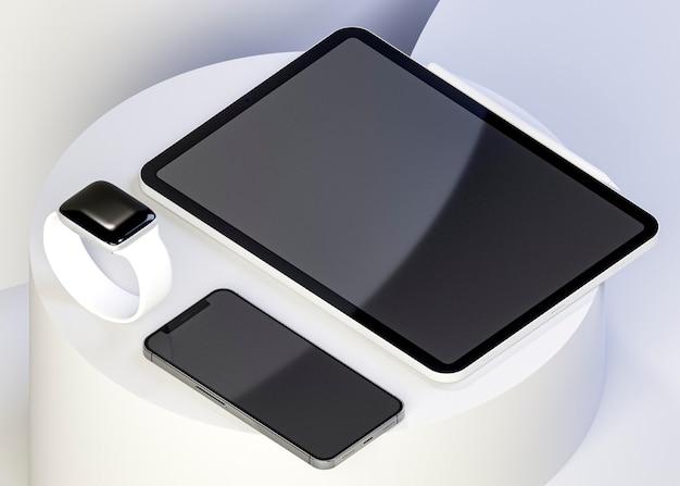 Vitrine de tablette moderne