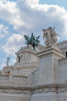 Vittoriano à rome, italie