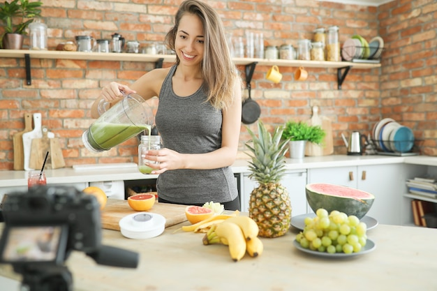 Vlogger alimentaire