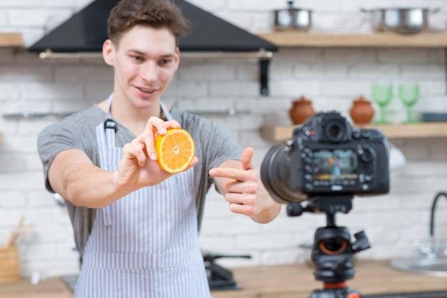 Vlogger de cuisine