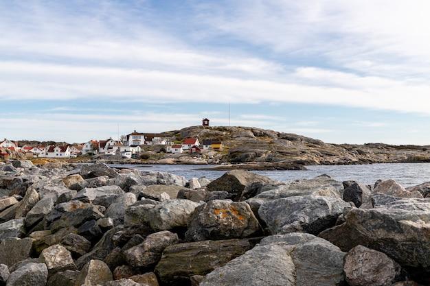 Voir l'archipel de l'île de varngo göteborg suède