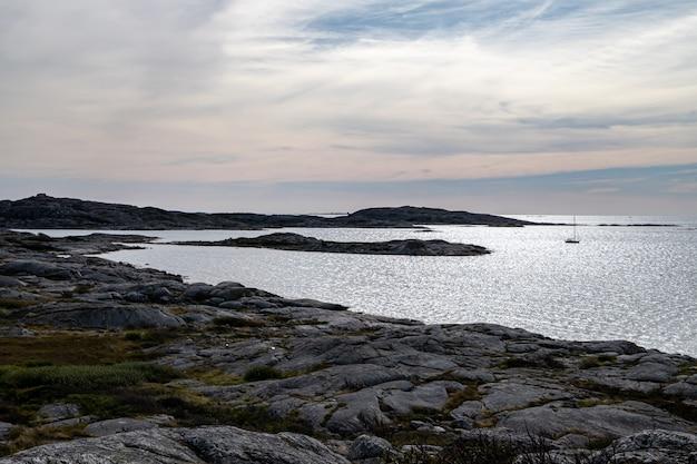 Voir l'archipel de l'île de vrng göteborg suède