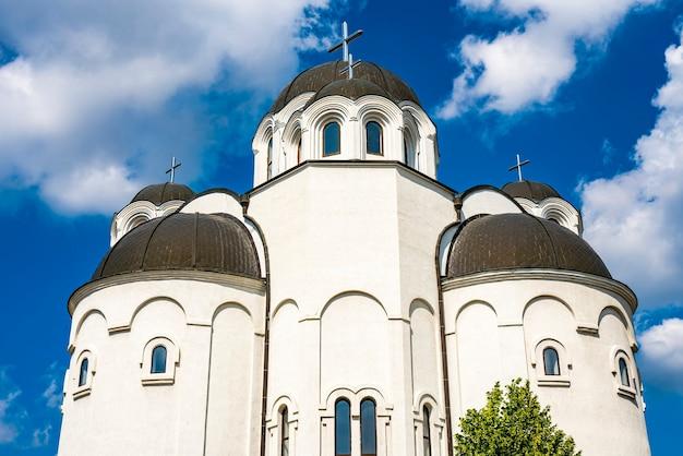 Voir à l'église orthodoxe de telep, novi sad, serbie