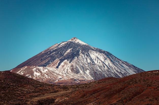 Voir à el teide pic et volcan, le plus haut sommet d'espagne à tenerife, îles canaries, espagne.