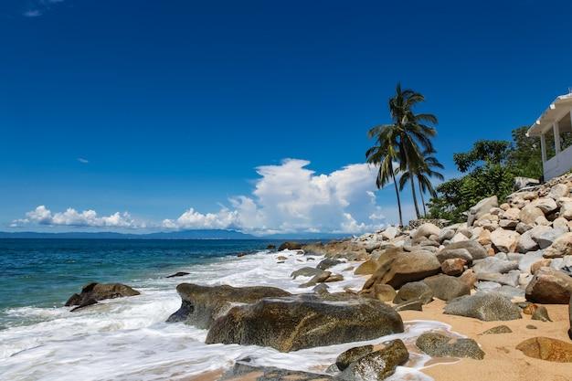 Voir à playa las animas près de puerto vallarte au mexique