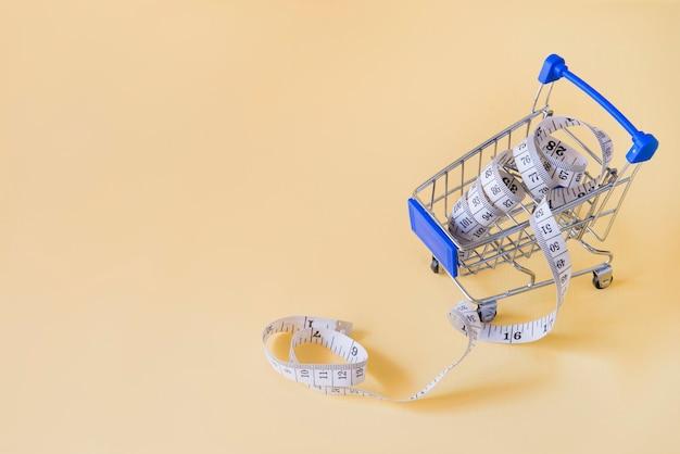 Voiture d'achat pour l'alimentation
