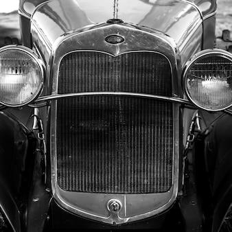 Voiture ancienne ford, dunstaffnage, île-du-prince-édouard, canada