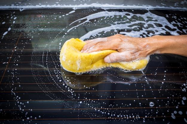 Voiture de lavage de main