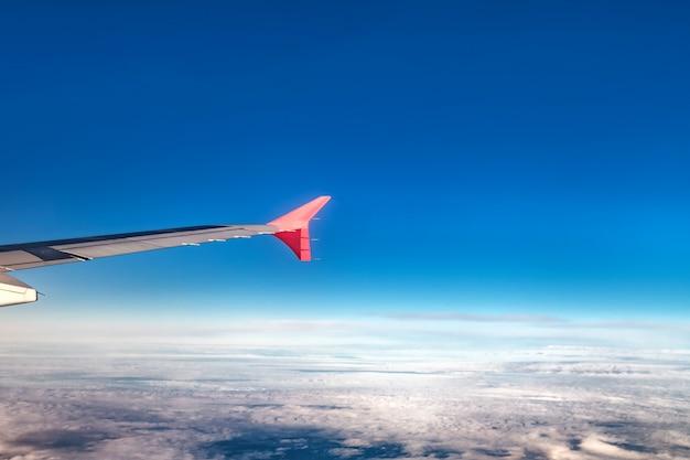 Vol en avion sur les montagnes de la turquie