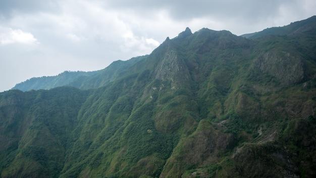 Volcan kelud à blitar et kediri, java oriental
