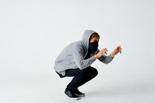Voleur d'homme voler de l'argent piratage attention anonymat