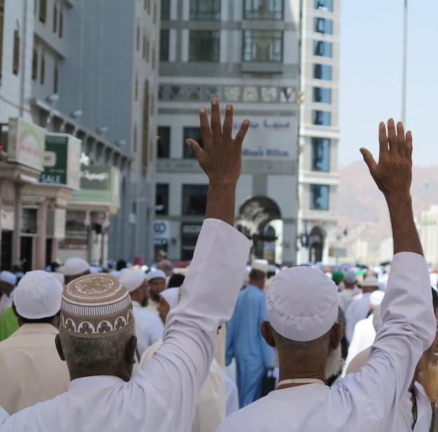 Voyage au hajj à la mecque photo de haute qualité