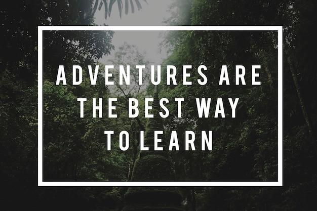 Voyage d'aventure destination nature exploration