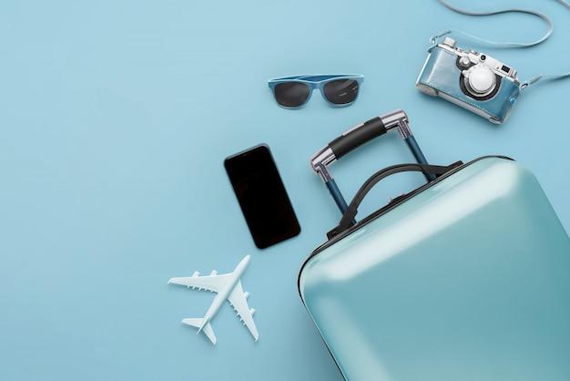 Voyage et avion avec les bagages