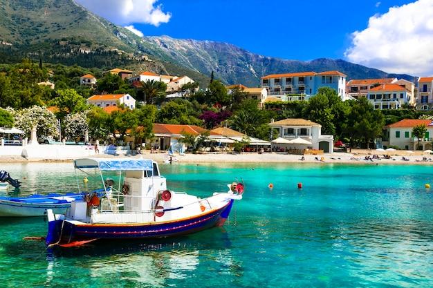 Voyage en grèce. beaux endroits de céphalonie