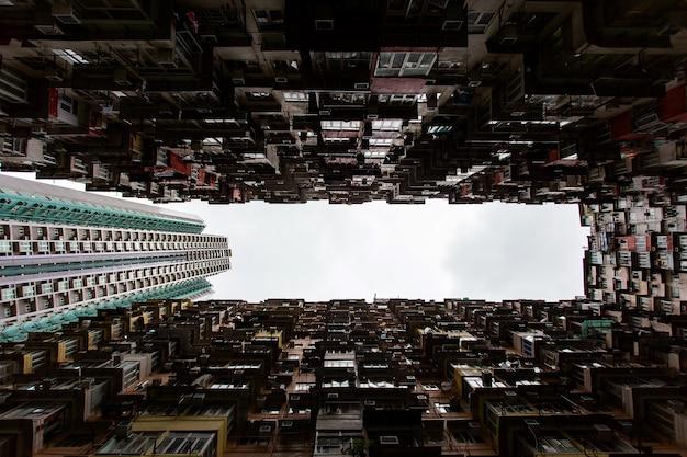 Voyage à hong kong. magnifique bâtiment