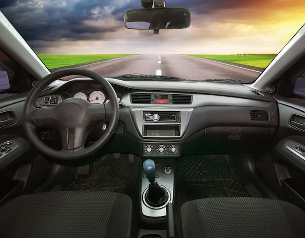 Voyage en voiture. élément de conception.